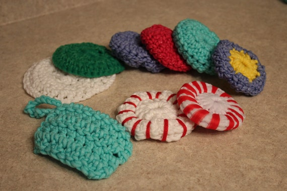Set of 2 Scrubby for dishes