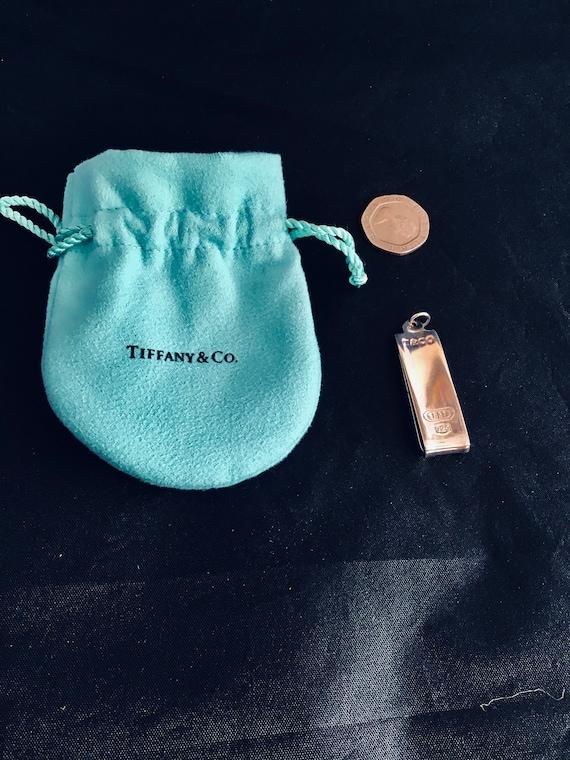Stunning Tiffany Money Clip Genuine Repaired Polis