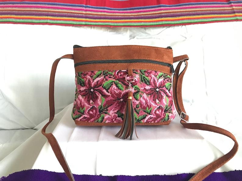 Cute Guatemalan Handmade Cross-body Purse~San Pedro Collection