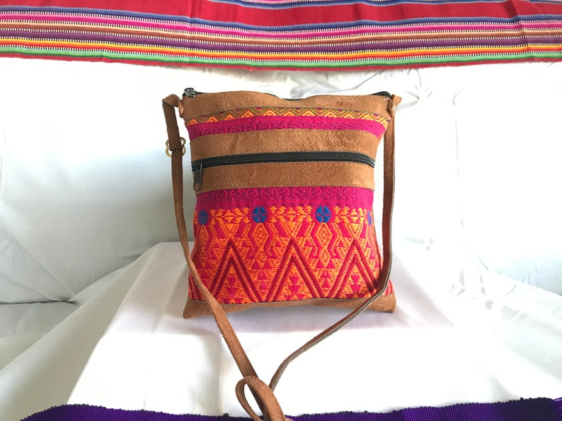 Cute Guatemalan Handmade Cross-body Purse~Antigua Collection~ Indigenous Artistry