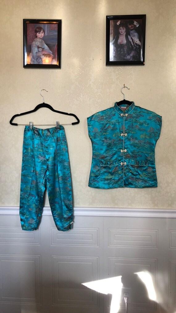 VINTAGE Silk Pajamas