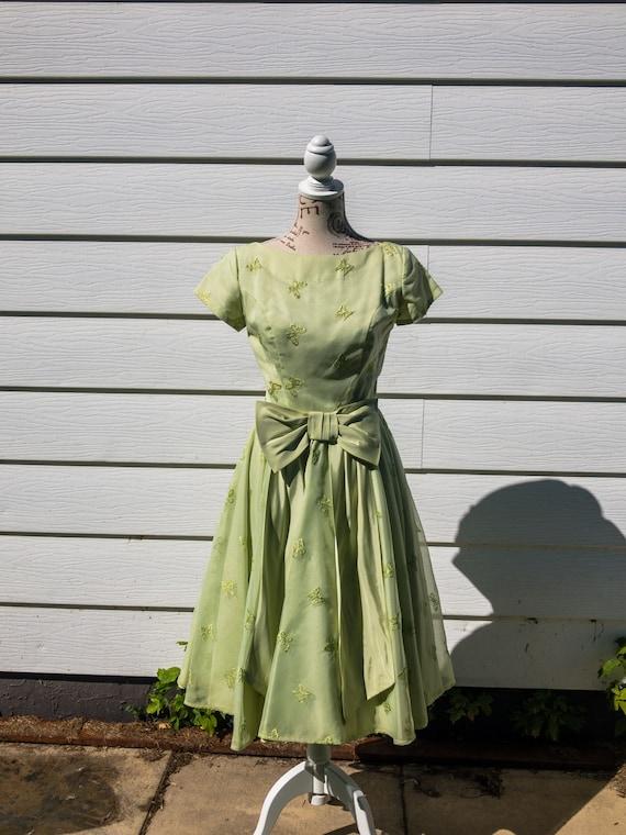 Vintage 1950's Day Dress
