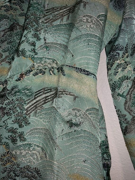 Vintage Chinese Robe/Kimono Jacket Antique - image 6