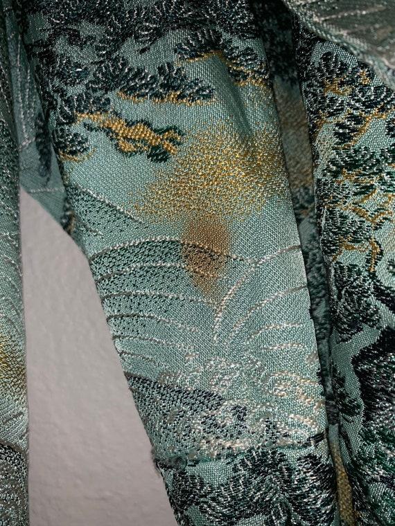 Vintage Chinese Robe/Kimono Jacket Antique - image 7