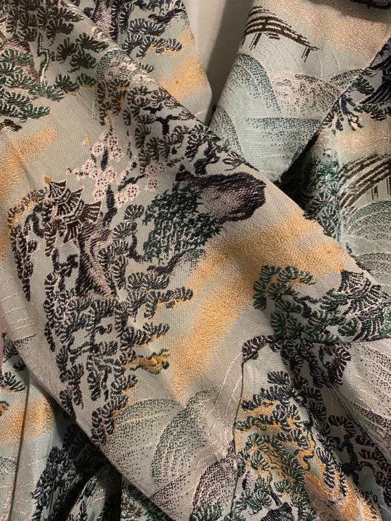 Vintage Chinese Robe/Kimono Jacket Antique - image 3