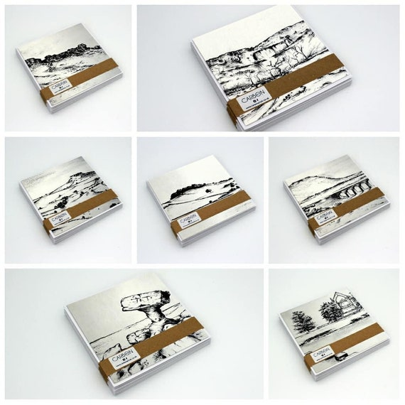 Set of 7 Yorkshire Greetings Cards