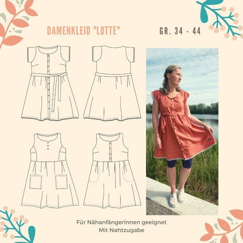 Damenkleid LOTTE Top ASTRID Bundle 2 Schnittmuster und image 0