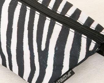 Bag zebra fanny pack Zebra kidney