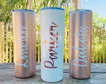 Personalized tumbler, Bridesmaid Proposal tumbler, Stainless Steel Tumbler, Bridesmaid Gift, Bride Tumbler, Bridesmaid Water Bottle