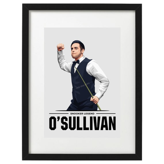 Ronnie O/'Sullivan snooker art print