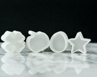 Seasonal shaped 3D printed Watercolor Pans