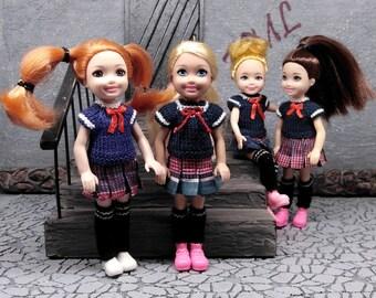 Kelly Tommy bambole.. Barbie Doll Bambino Taglia in legno letto a castello per Chelsea colori!