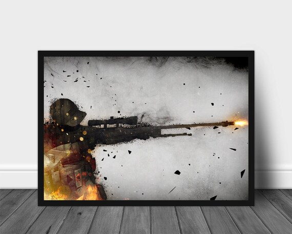 Counter Strike Global Offensive Game Poster Print T078 A4 A3 A2 A1 A0|
