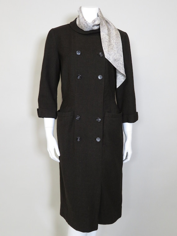 B.H. Wragge c. 1960s Double Breast Dress