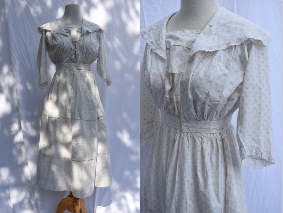 1930s Day Dress | Size XXS/XS