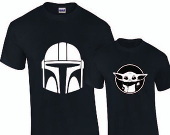 Star wars shirt DAD BABY MATCHING shirts Father and son matching shirts daddy and son shirts daddy and daughter shirts dad and baby mini me.