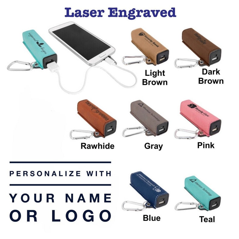 phone charger personalized usb charger custom charger Personalized power bank