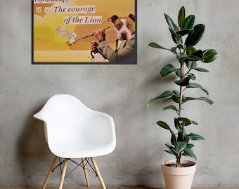 Psychotherapy Matte Collage Print