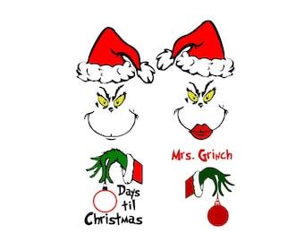 Christmas Grinch Svg.Grinch Svg Etsy