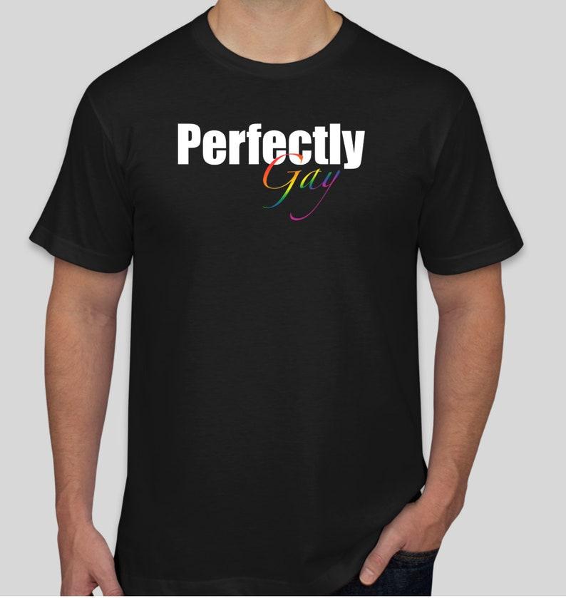 Perfectly Gay T-Shirt Black