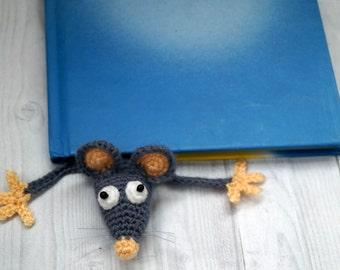 Amigurumi Crochet Mouse Bookmark Facebook | Virkmönster, Crochet ... | 270x340