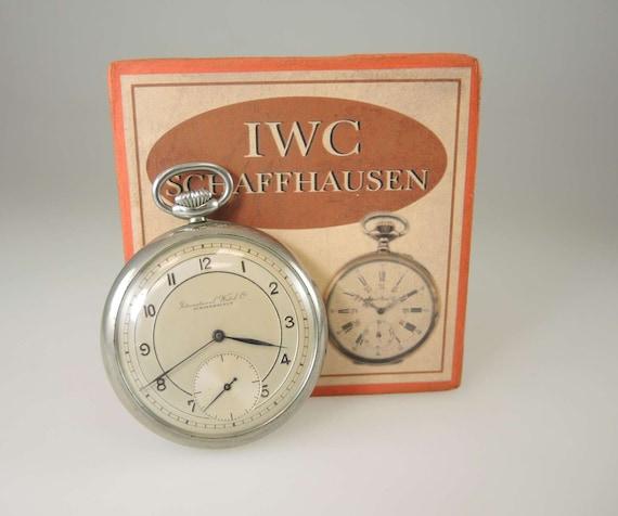 IWC International Watch Co Pocket watch c1937
