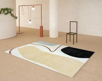 Designer   Minimalism Earthy Series Abstract Rug, Area Rug, Modern Rug, Art Rug, Living Room Rug, Bedroom Rug, Rugs