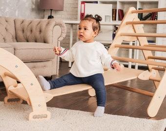 Montessori furniture Set of three items Baby gym Toddler furniture Baby gym New baby gift Toddler furniture Climbing furniture Eco toys