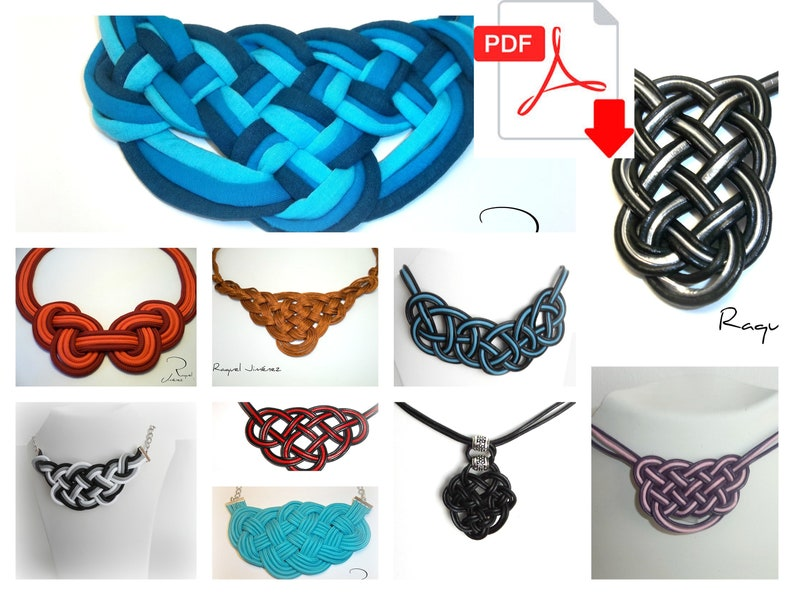 Patterns For Making Necklaces With Celtic Knots ten craft image 0