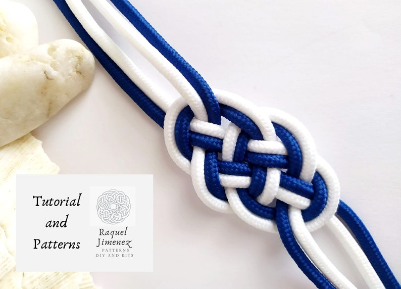 Pattern macrame bracelet sailor knot how to make nautical image 0
