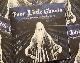 Poor Little Ghosts Picture Book Zine Halloween Gift Indie Comic
