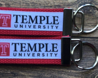 TEMPLE UNIVERSITY Lanyard WBreakaway 1 NCAA Stella the Owl Temple University Tu