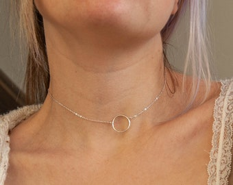 Submissive Collar original day choker 925 Stamped solid Sterling Silver Helzberg Expressions heart Charm and Deerskin Leather 11 colors