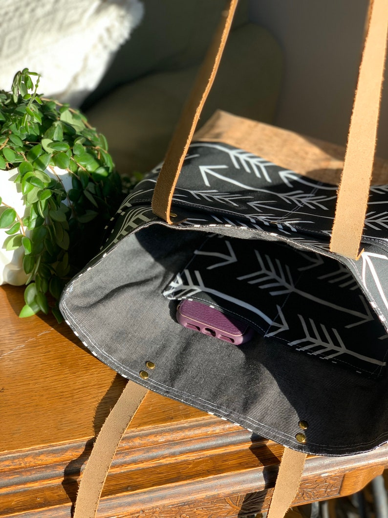 Wax and Wool Tote