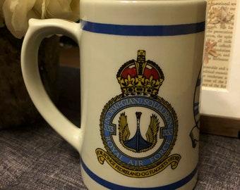 ROYAL AIR FORCE 118  SQUADRON BEER STEIN