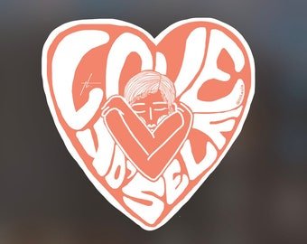 Love Yo'Self Sticker