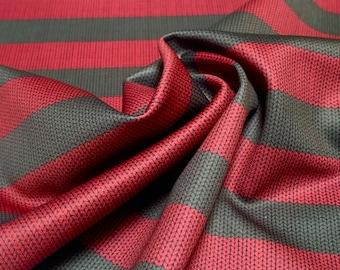 "Freddy Krueger Fabric Knit Pattern Polyester Fabric Swatch 12x18"" Small Fat Quarter Scuba Knit Fabric 100% Polyester Fabric Horror Fabric"