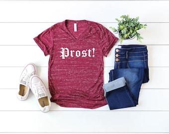 Funny Oktoberfest V-neck Shirt, Prost Shirt, Oktoberfest 2020 Stay 6 Steins Apart Shirt, Funny Oktoberfest Shirt For Men Women