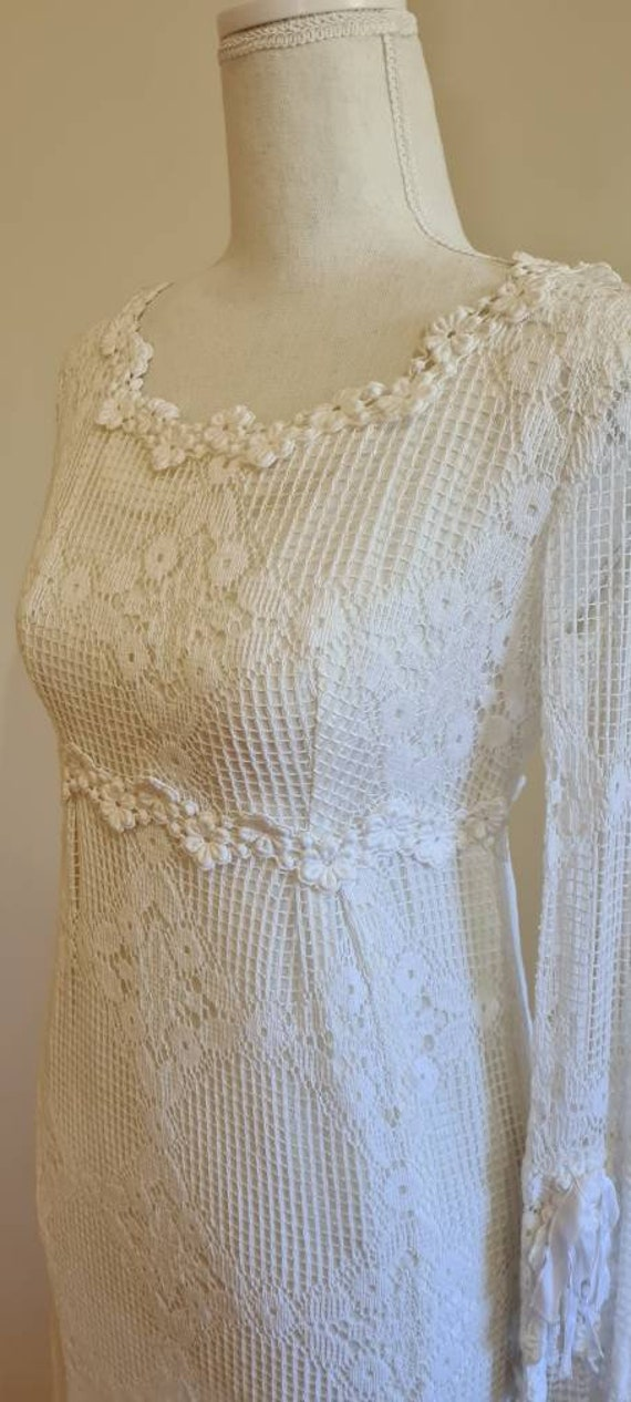 1960s vintage wedding gown wedding dress 'Delilah'