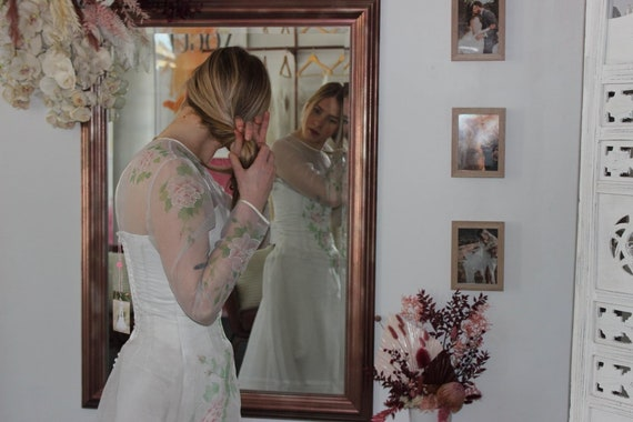 1970's 'Rose' wedding dress