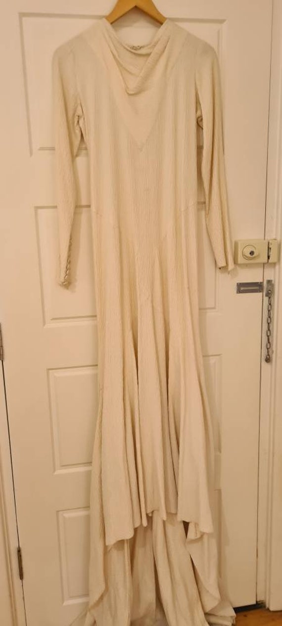 Vintage 1930s unique wedding dress wedding gown 'F