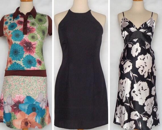 Thrift dress Little black dress Floral dress Lot o