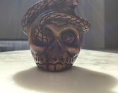 Early 20th century Japanese netsuke in the form of a skull