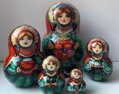 Matryoshka, Babushka, Russian Nesting dolls