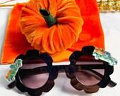 Pumpkin Wrap, Pumpkin Patch Baby Girl Outfit, Velvet Headwrap, Pumpkin Headwrap, Velvet Wraps for Baby Girls, Girls Pumpkin Outfit, Bows