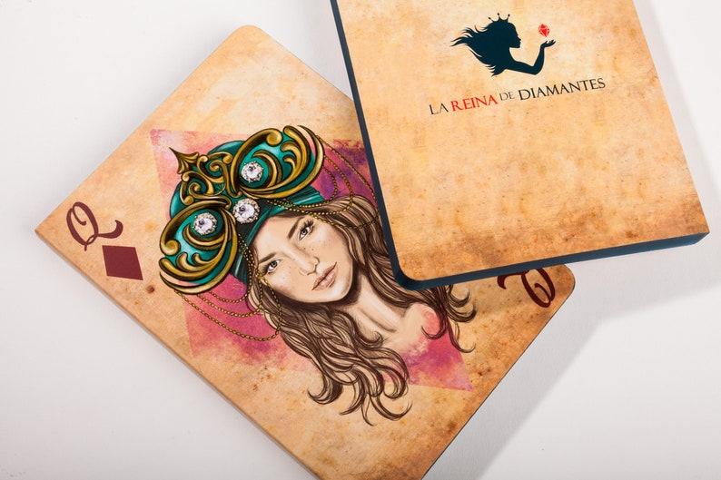 Illustrated notebook personal journal sketchbook for image 1
