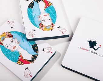 a5 notebook, exclusive notebook, white sheets notebook, gift for women, original details, woman illustration