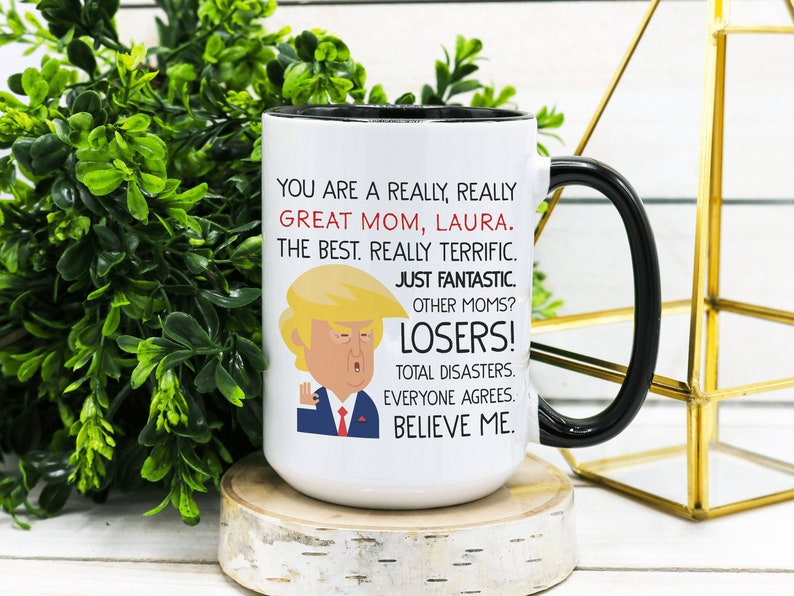 Trump Mother's Day Gift Mothers Day Gift Mom Trump Mug image 0