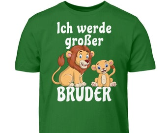 I'm Going Big Brother TShirt Boys Lion T-Shirt Sibling Gift