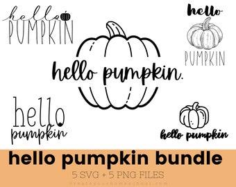 Hello Pumpkin SVG, fall SVG, autumn SVG, Coffee Mug svg files, fall tee svg, hello pumpkin tee svg, svg quotes, boho svg, pumpkin svg images